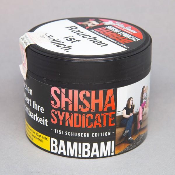 Shisha Syndicate Tabak Tisi Schubech Edition BAM!BAM! - 200g