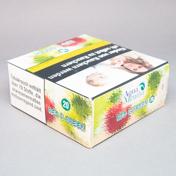 Aqua Mentha - Red & Green #20 - 200g