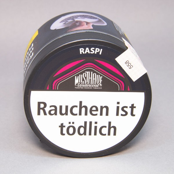 Musthave Undercoal Tabak Raspi - 200 gr.
