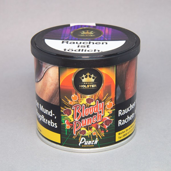 Holster Tobacco - Bloody Punch - 200gr.