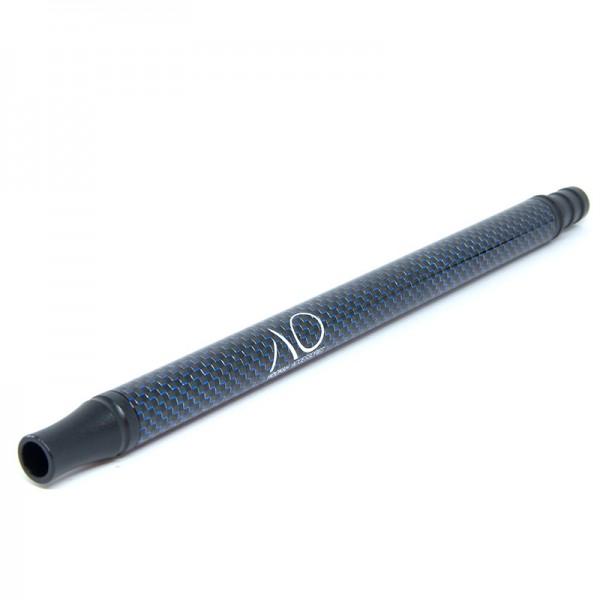 AO Alu Carbonmundstück Schwarz Blau