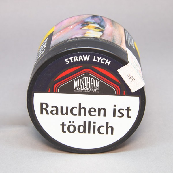 Musthave Undercoal Tabak Straw Lych - 200 gr.