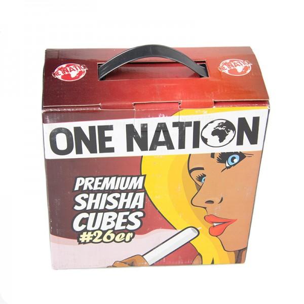 One Nation Premium Cubes - #26er - 4kg Big Pack