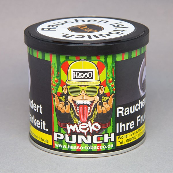 Hasso Tobacco - mello Punch - 200gr.