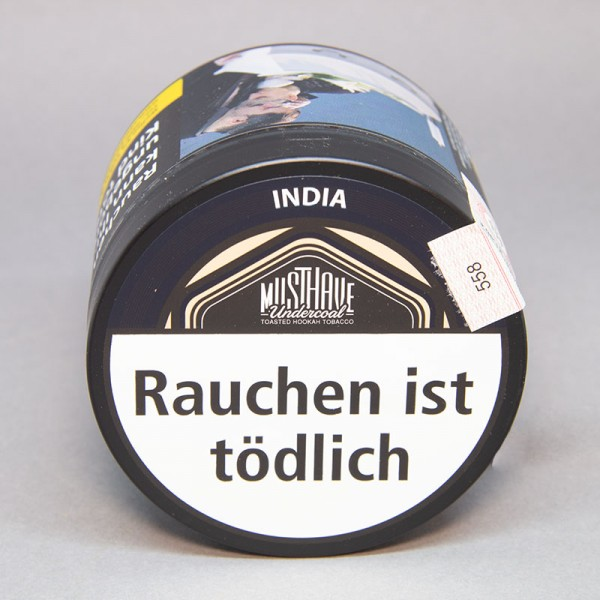 Musthave Undercoal Tabak India - 200 gr.